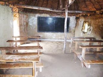 Salle de classe – Collège Ndama